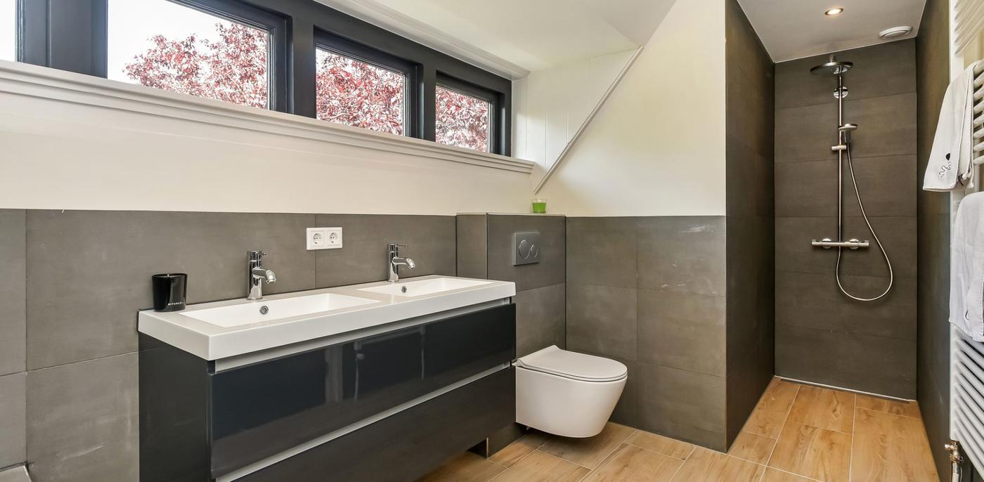 New Betonlook badkamer | Voorbeelden & inspiratie | Slimster @TC53
