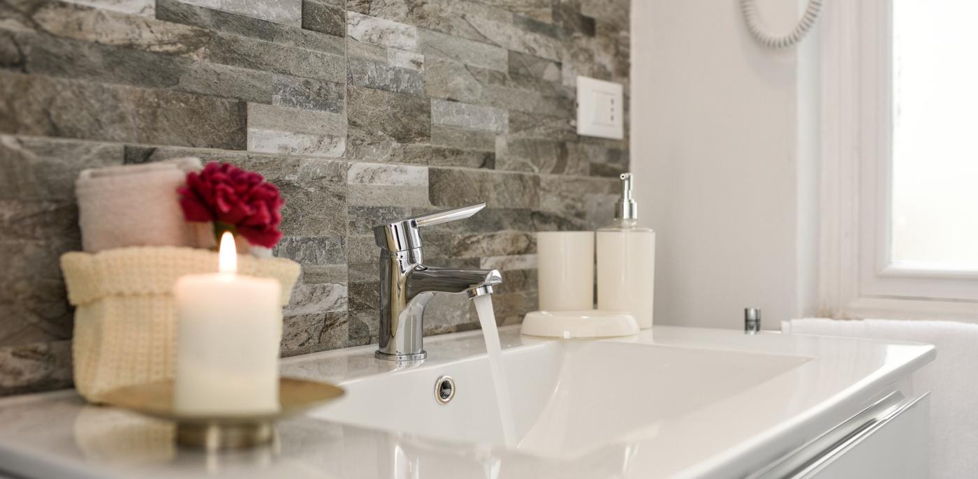 Natuursteen badkamer voorbeelden
