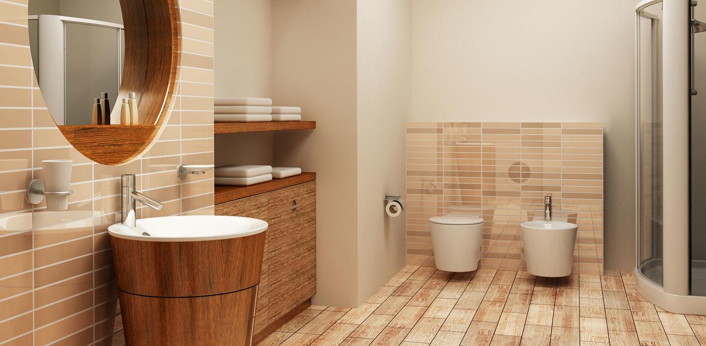 Retro badkamer voorbeelden