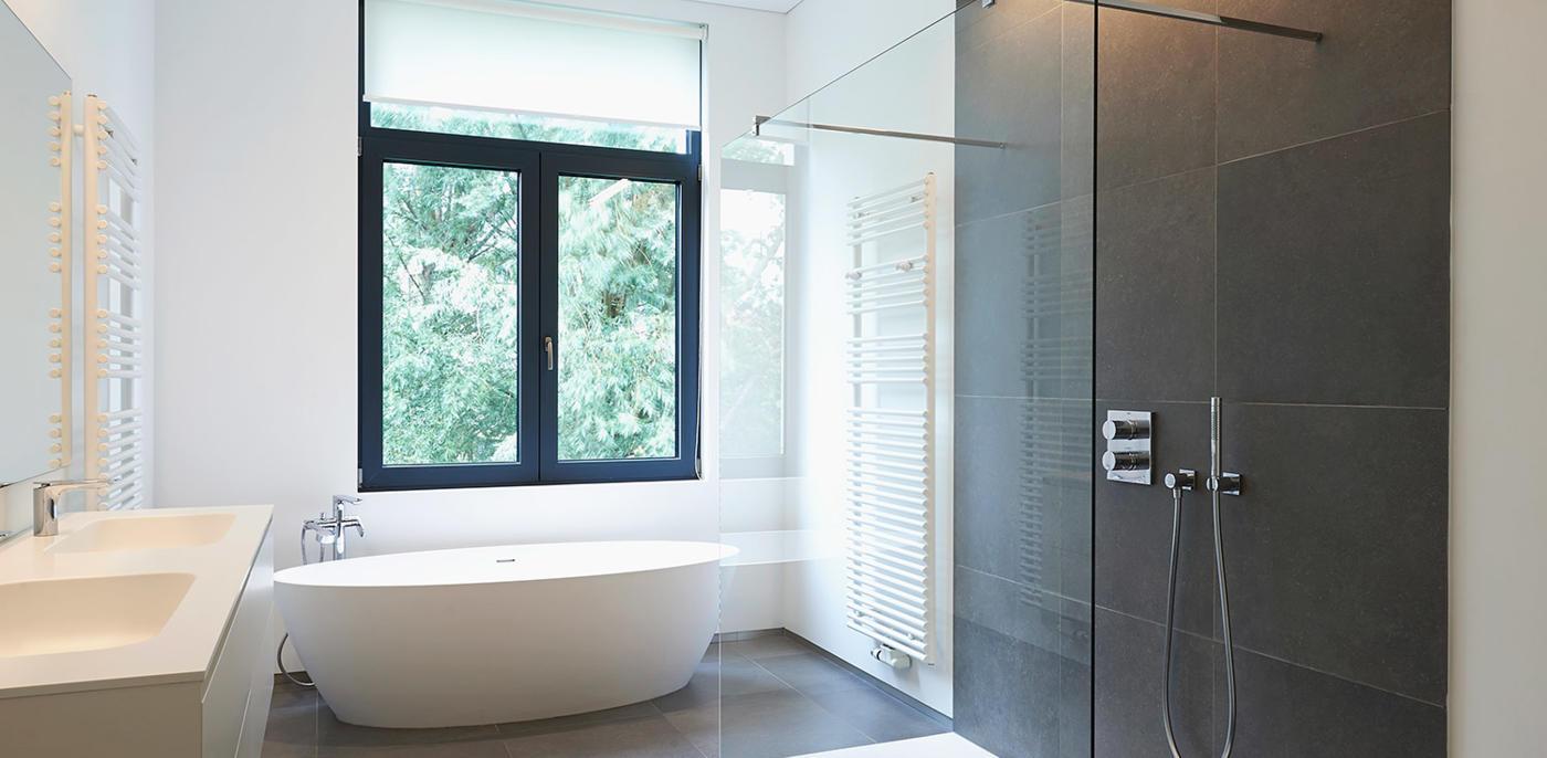 Zwart-witte badkamer voorbeelden