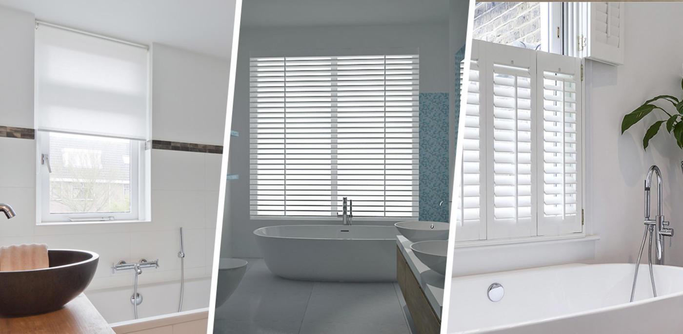 Welke raamdecoratie is ideaal voor de badkamer?