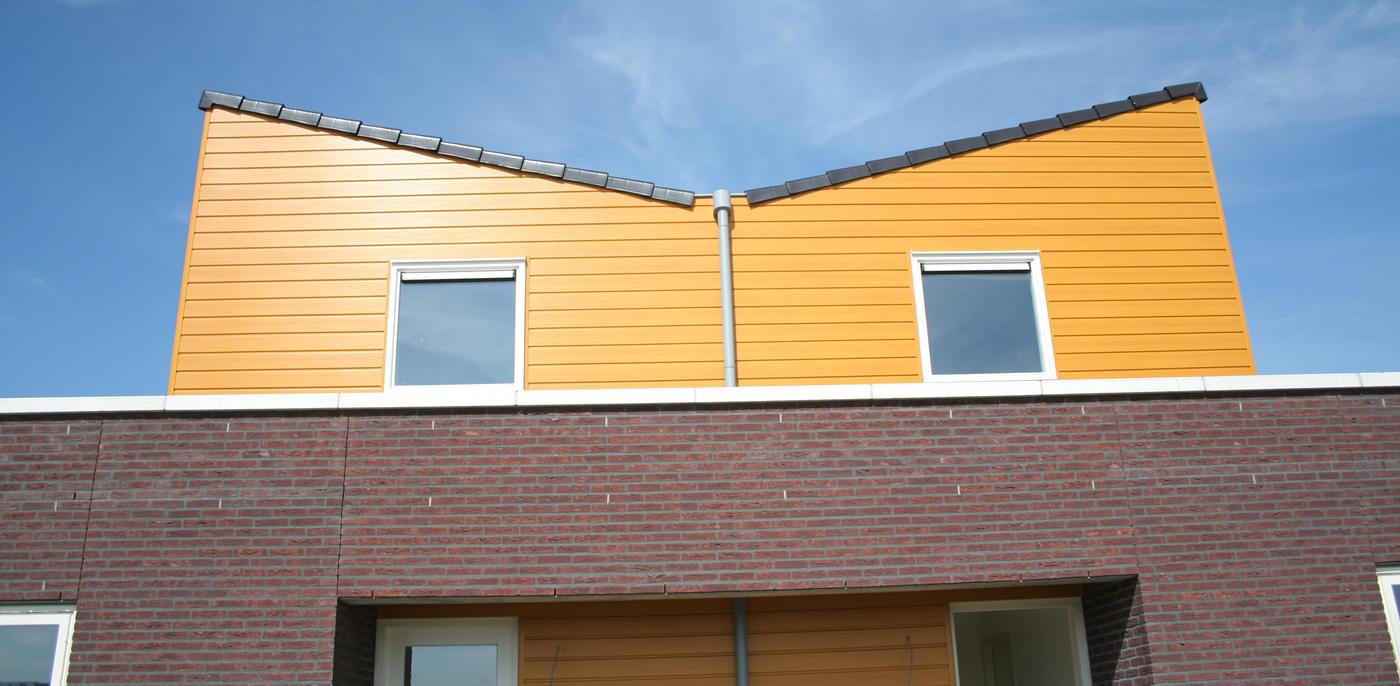 Dakopbouw met schuin dak