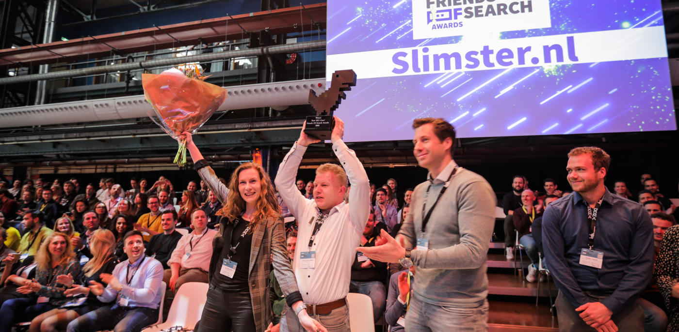 Slimster wint Friends of Search Award 2020