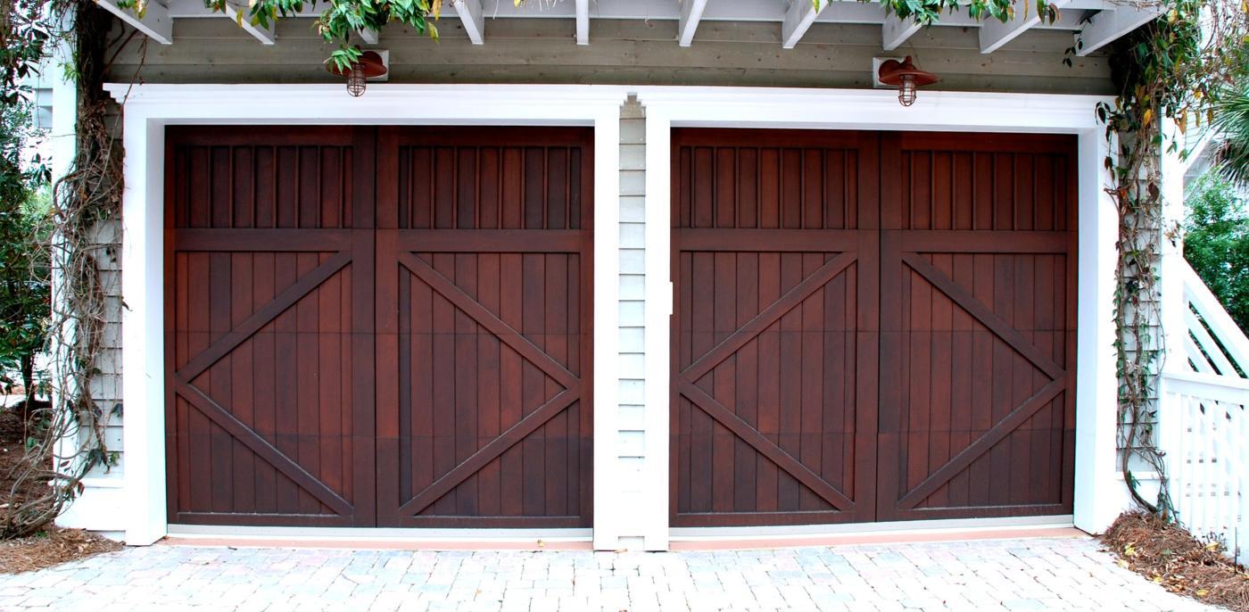 Houten garagedeuren prijs