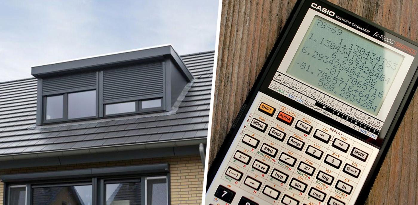 Hellingshoek van dak berekenen: hoe doe je dat?