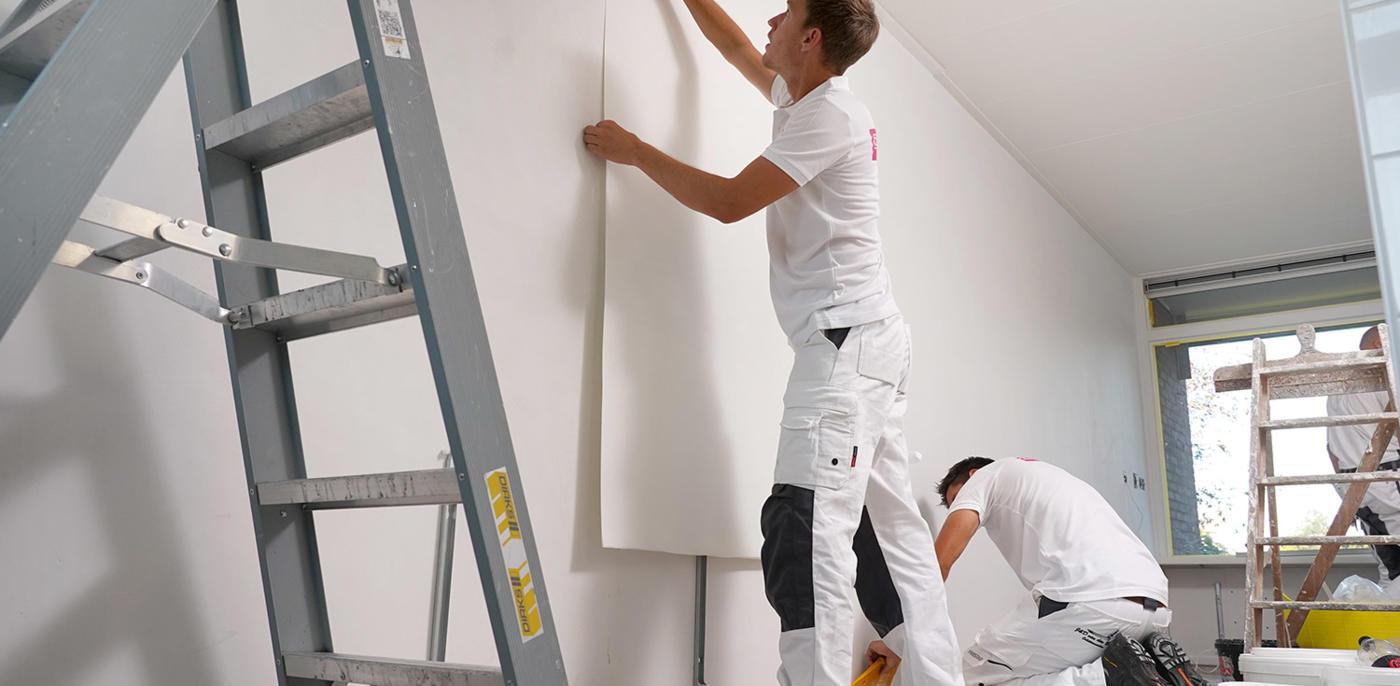 Wat kost renovlies behang?
