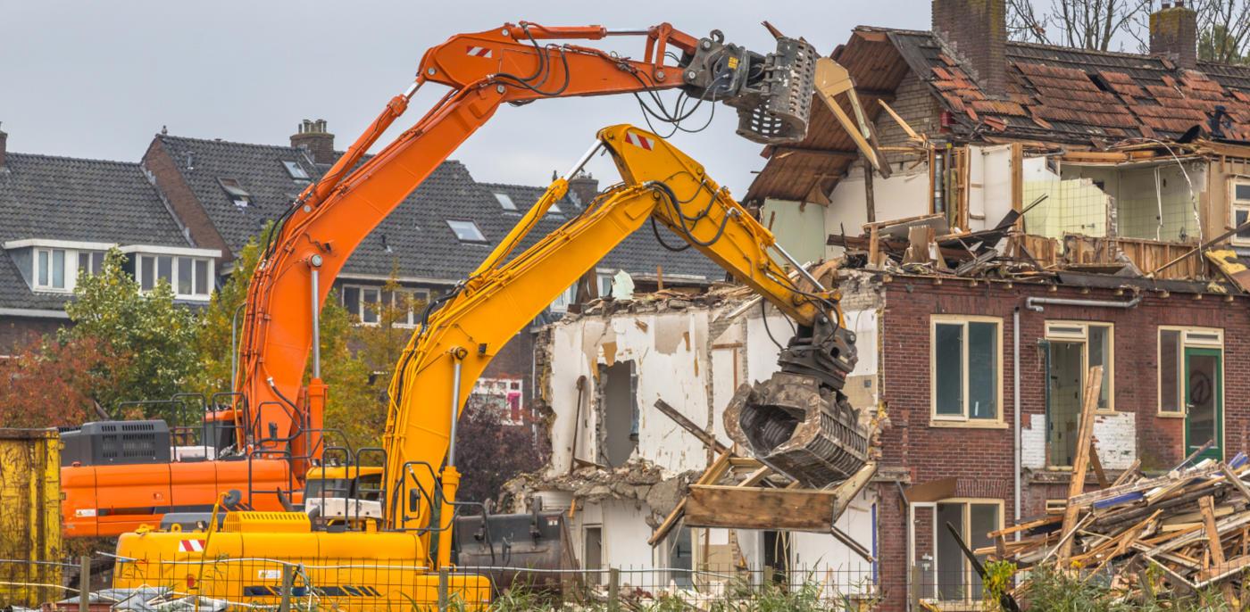 Wat kost een huis slopen en strippen?