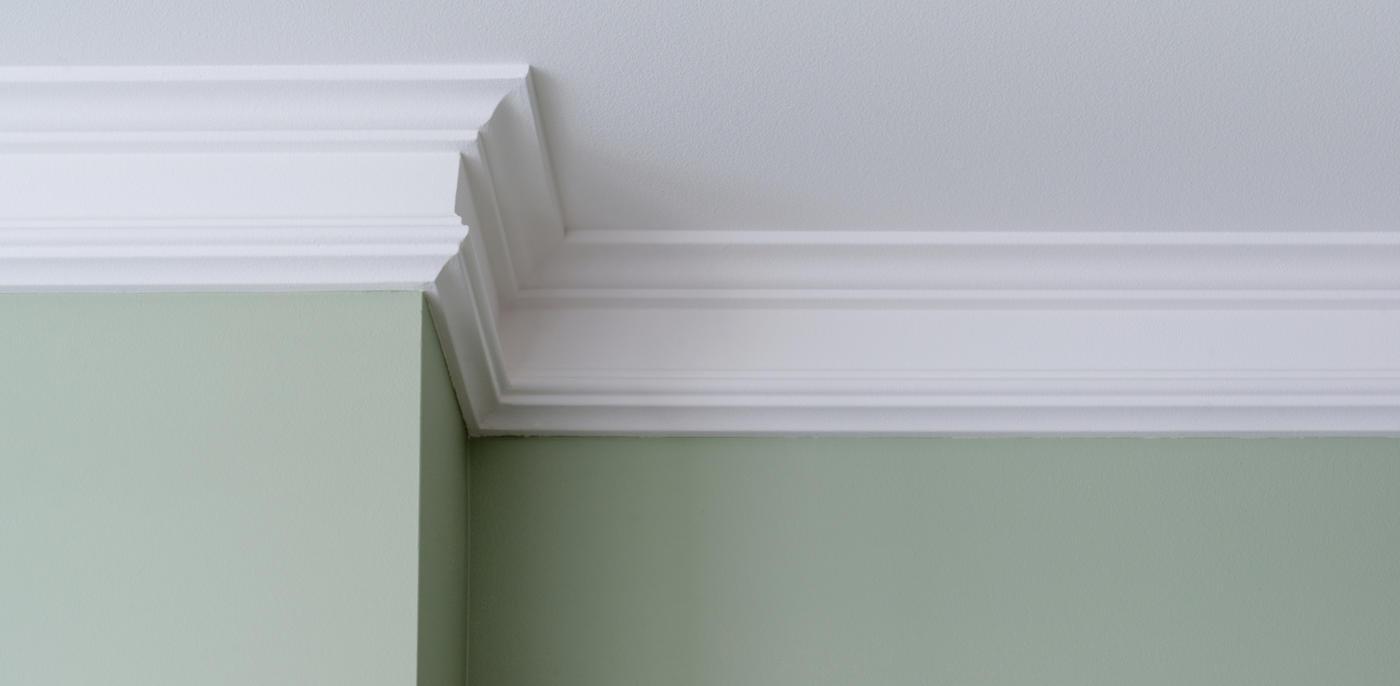 Sierlijsten & ornament plaatsen op muur of plafond → Slimster