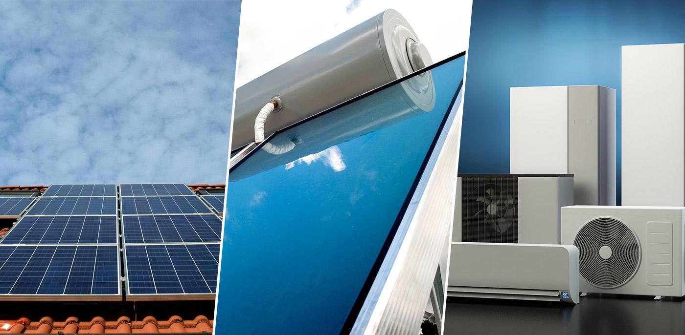 Zonnepanelen, zonneboiler & warmtepomp combineren?