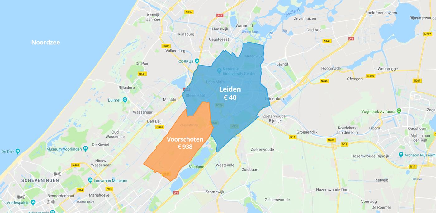 Dakkapel vergunning tot 23x duurder bij de buren: grote verschillen tussen gemeenten