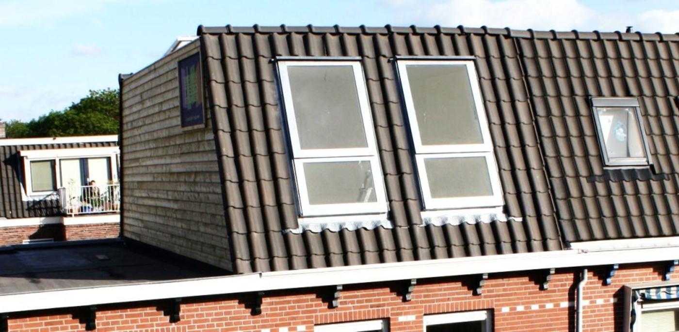 Dakopbouw in Haarlem