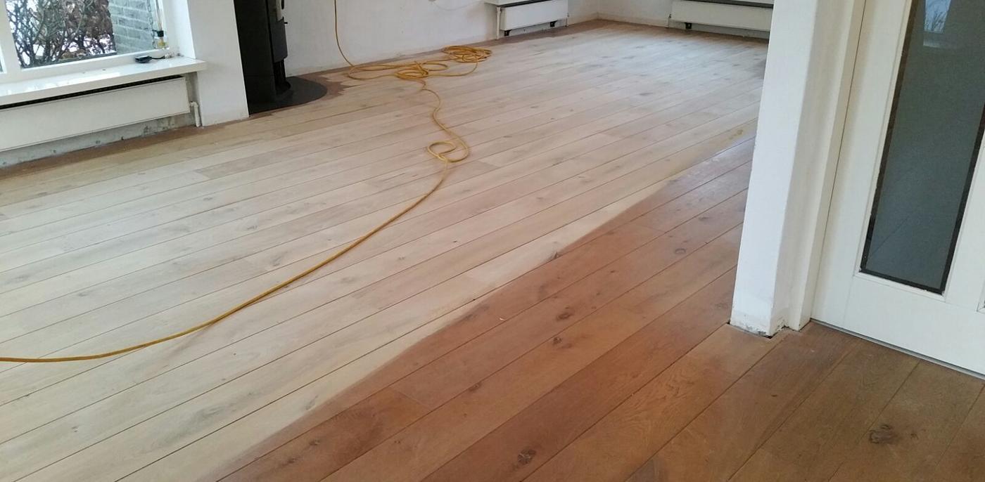Bekend Houten vloer schuren, lakken en oliën   Onderhoud parket   Slimster RK02