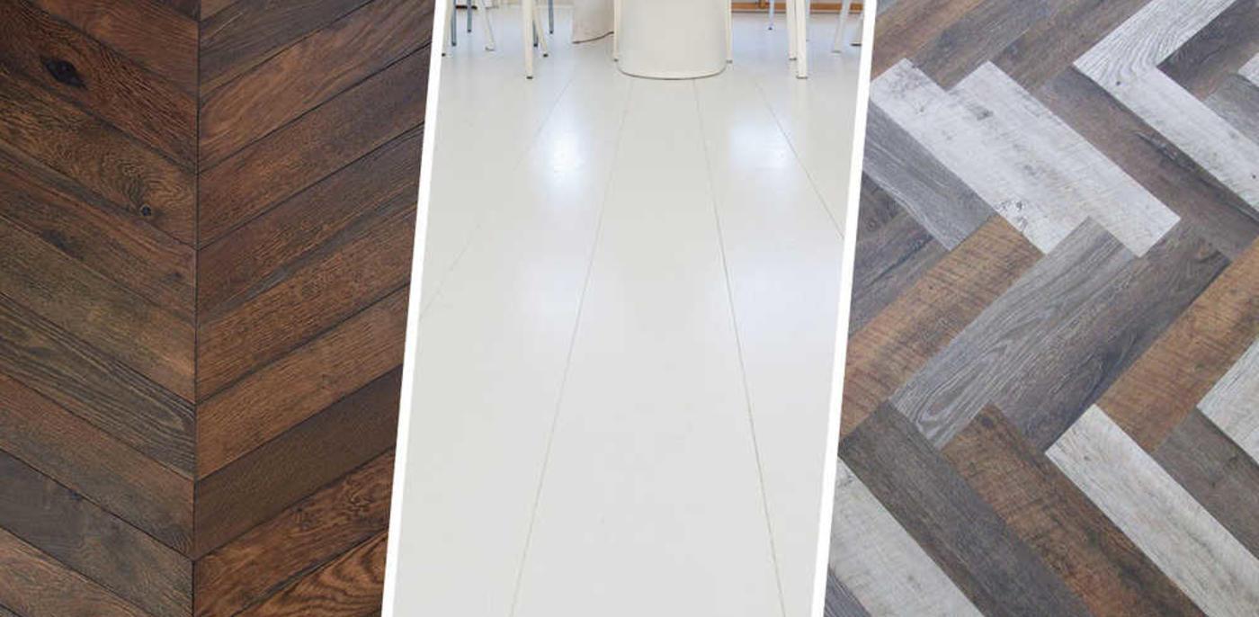 Bekend Houten vloer kleuren? Parket andere kleur geven - Slimster Blog OG38