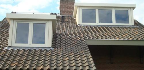 dubbele dakkapel plat dak