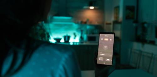 slimme verlichting smartphone bedienen