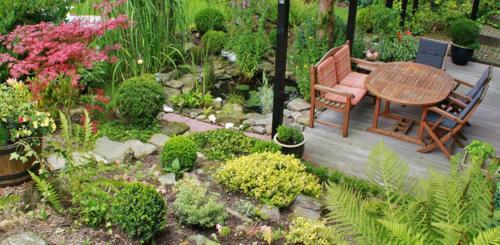tuin woning verbinden
