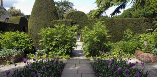 bestrating landelijke tuin