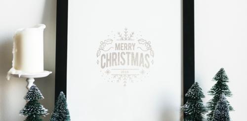 huis versieren kerst