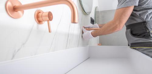 waterleiding badkamer aanleggen