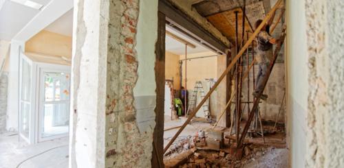 huis slopen en opnieuw bouwen