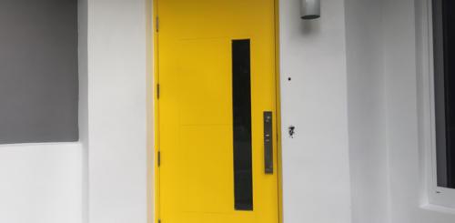 strakke moderne voordeur
