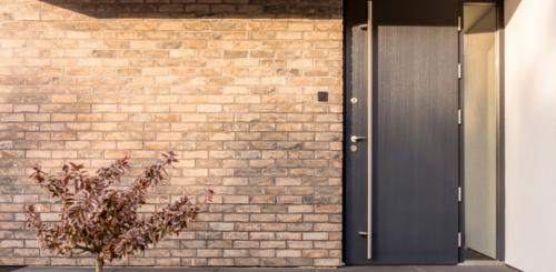 moderne strakke voordeuren
