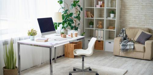 werkplek inrichten thuis