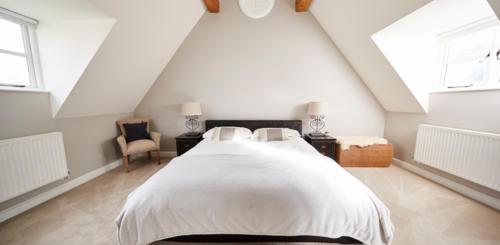 rustgevende kleuren slaapkamer