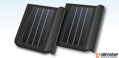 dakpannen met zonnepanelen
