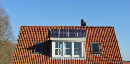 dakkapel zonnepanelen