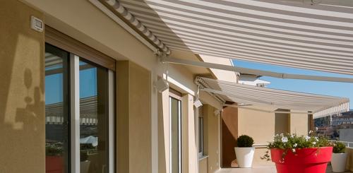 zonnescherm balkon