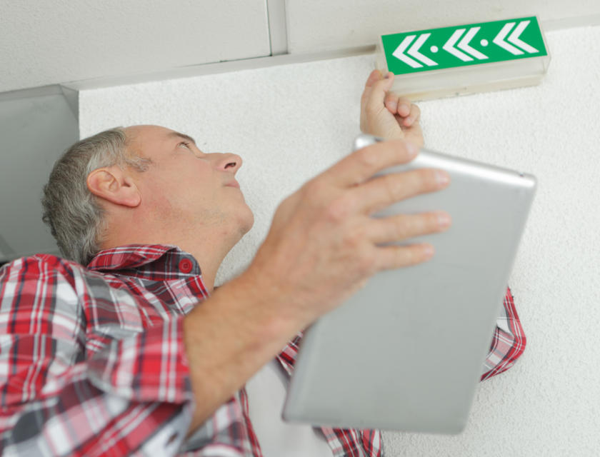 Keuring noodverlichting