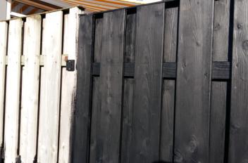 Hoe houten schutting beitsen?