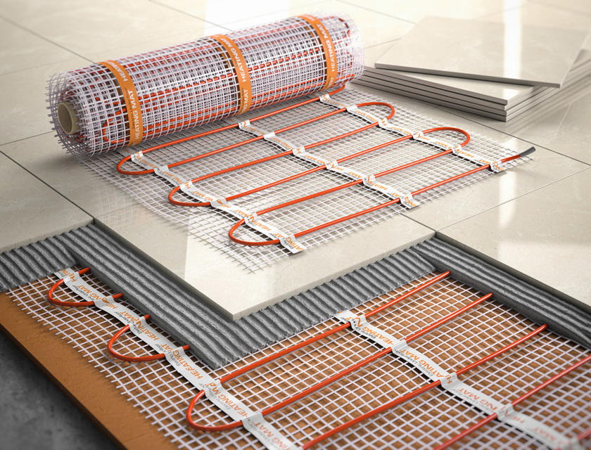 Elektrische vloerverwarming aanleggen