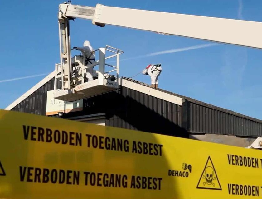 Asbest in daken