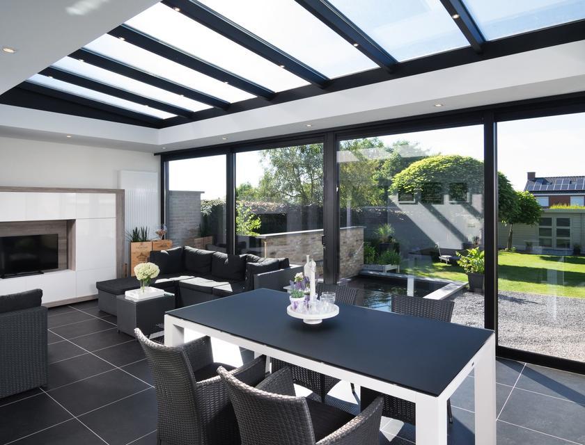 Luxe wellness villa bleekerscoogh met serre op texel