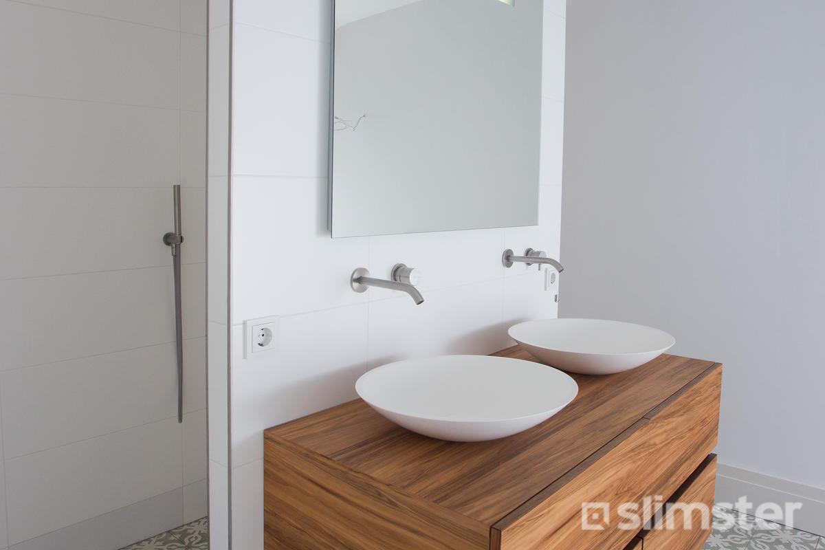 Retro badkamer vintage voorbeelden inspiratie slimster