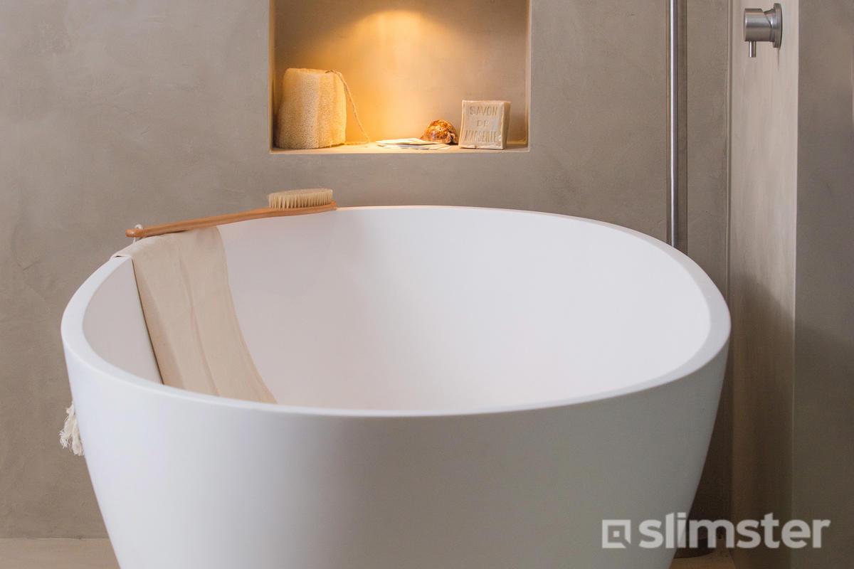 Badkamer Vrijstaand Bad : Plieger vrijstaand bad white van vigour product in beeld