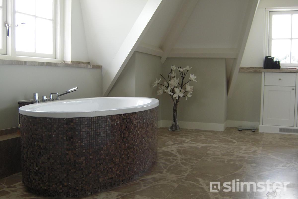 Natuursteen Voor Badkamer : Natuursteen badkamer voorbeelden inspiratie slimster