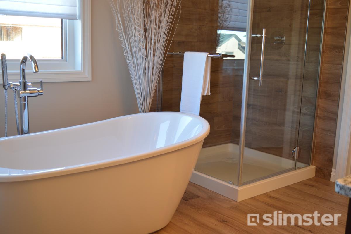 Teak Vloer Badkamer : Houtlook badkamer voorbeelden inspiratie slimster