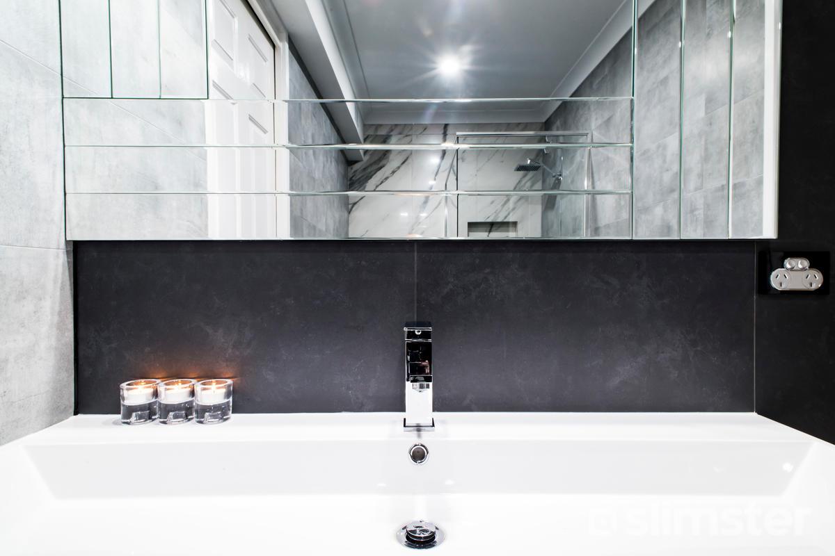 Zwart-witte badkamer | Voorbeelden & Inspiratie | Slimster