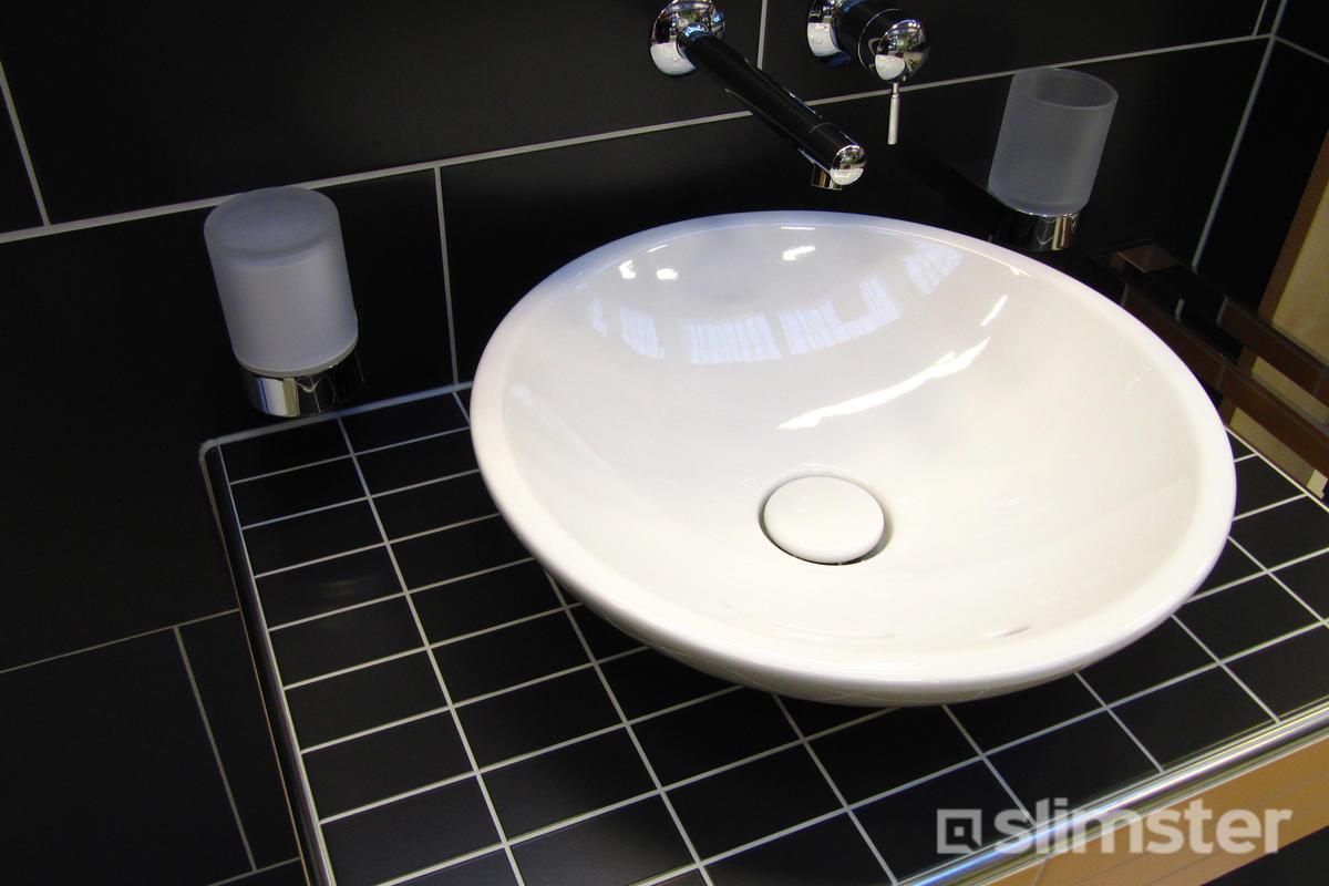 Zwart witte badkamer voorbeelden & inspiratie slimster