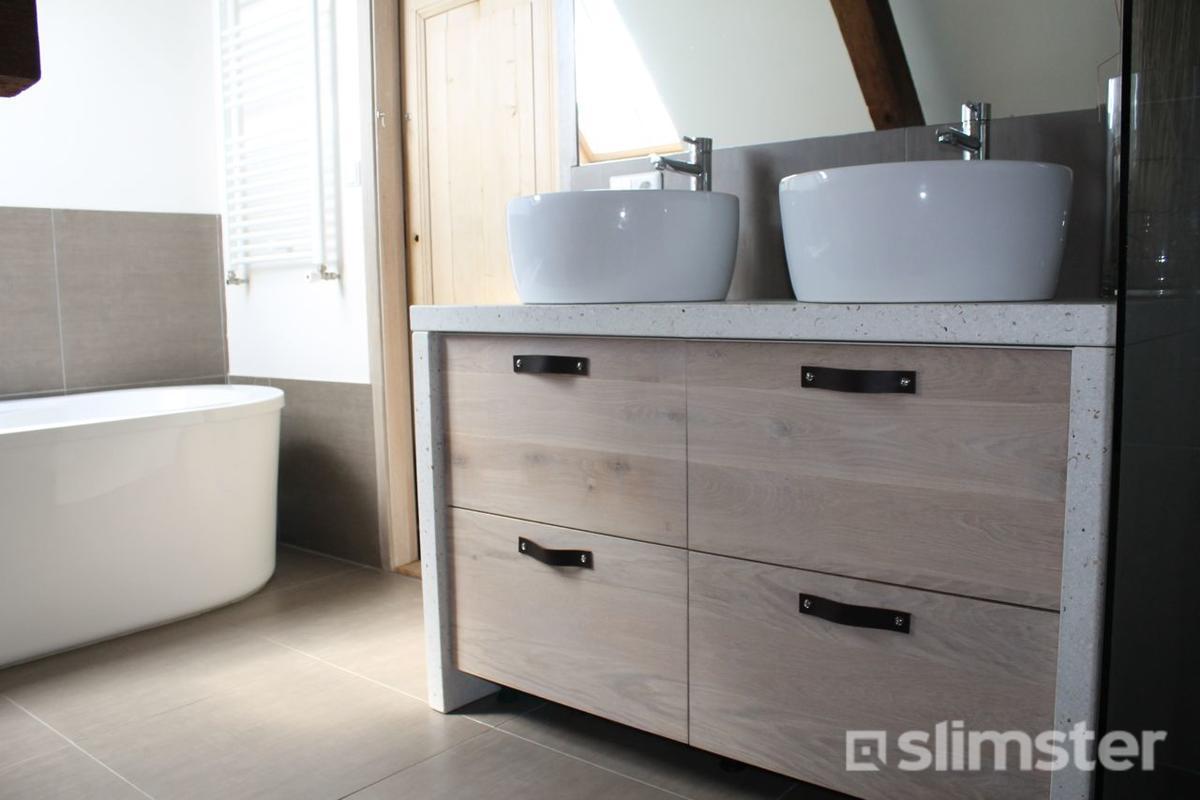 Badkamermeubel Met Badkamerkast : Badkamermeubel plaatsen prijs en mogelijkheden slimster
