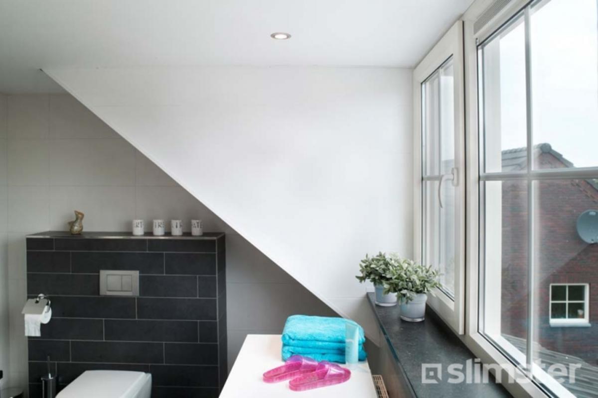 Badkamer Met Dakkapel : Zolder verbouwen tot badkamer slimster