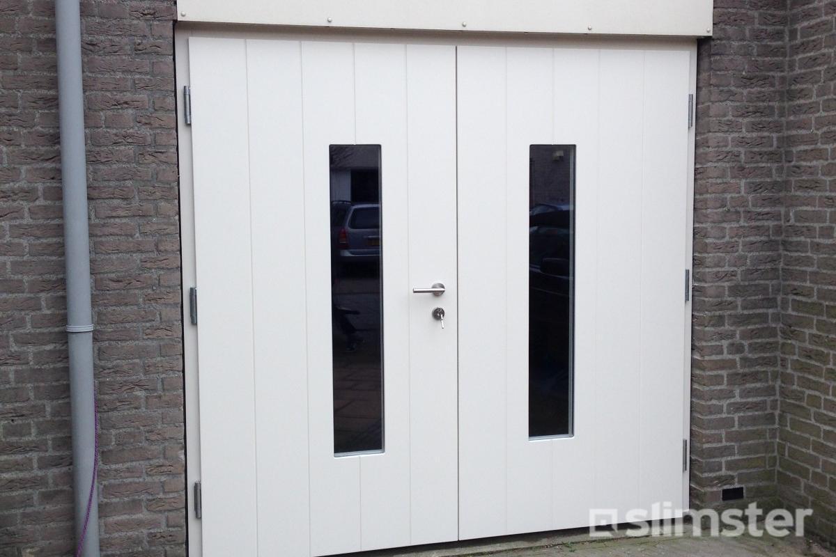 Houten Garagedeuren Prijs : Wat kost een houten garagedeur prijzen vergelijken slimster