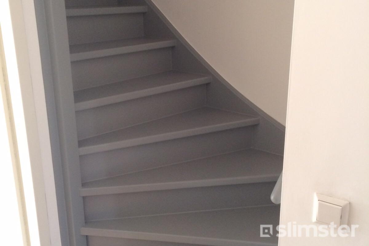 Wonderbaar Kosten trap schilderen - Beste prijs trap verven ᐅ Slimster KU-32