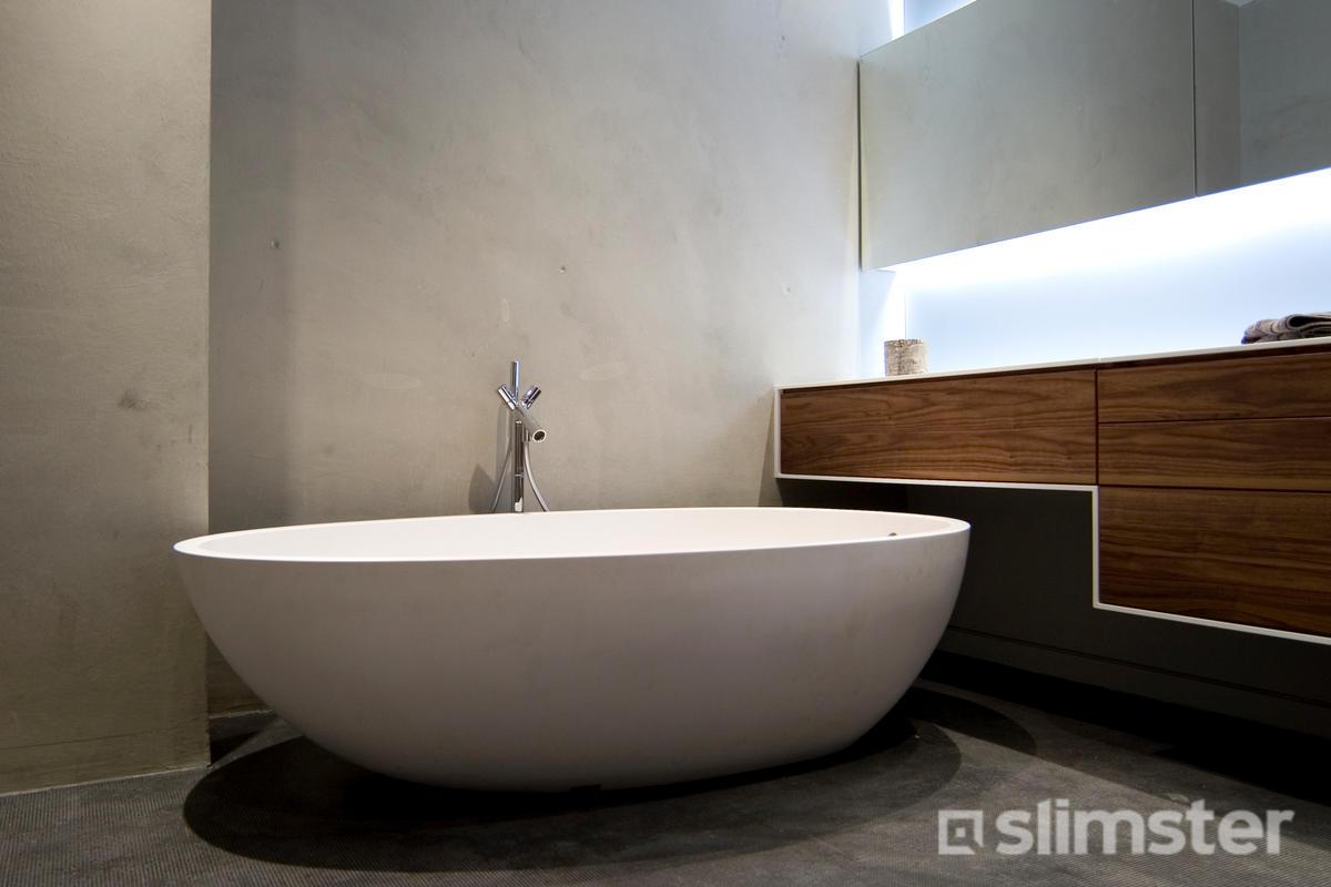Gestuct Plafond Badkamer : Badkamer laten stucen kosten mogelijkheden slimster