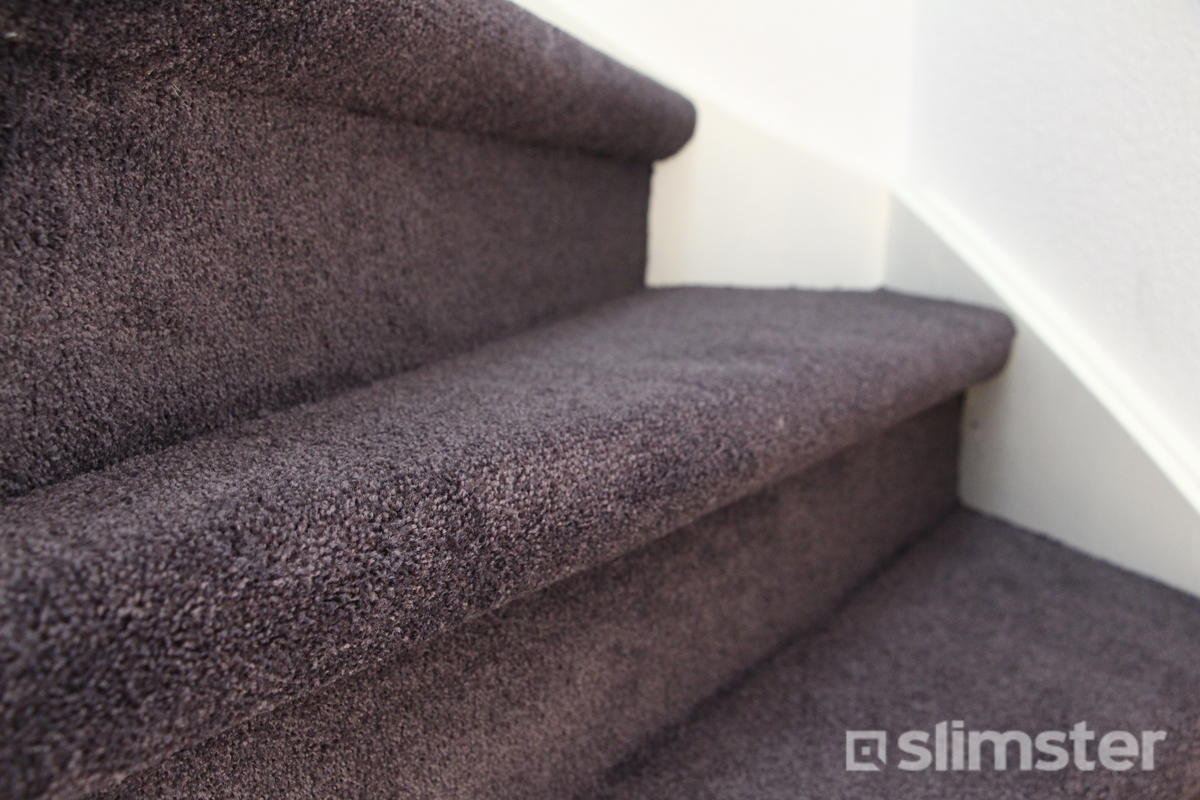 Trap bekleden met tapijt vloerbedekking op trap slimster