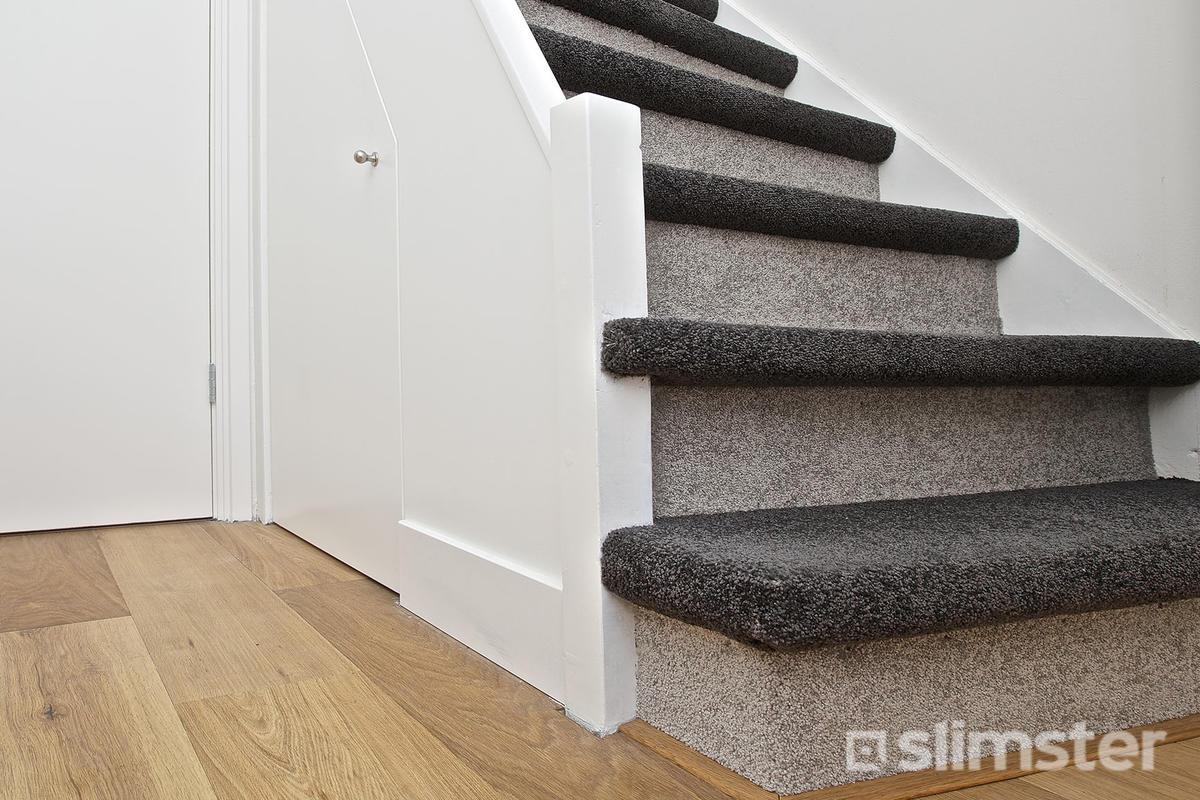 Kan een trap met elk type tapijt bekleed worden