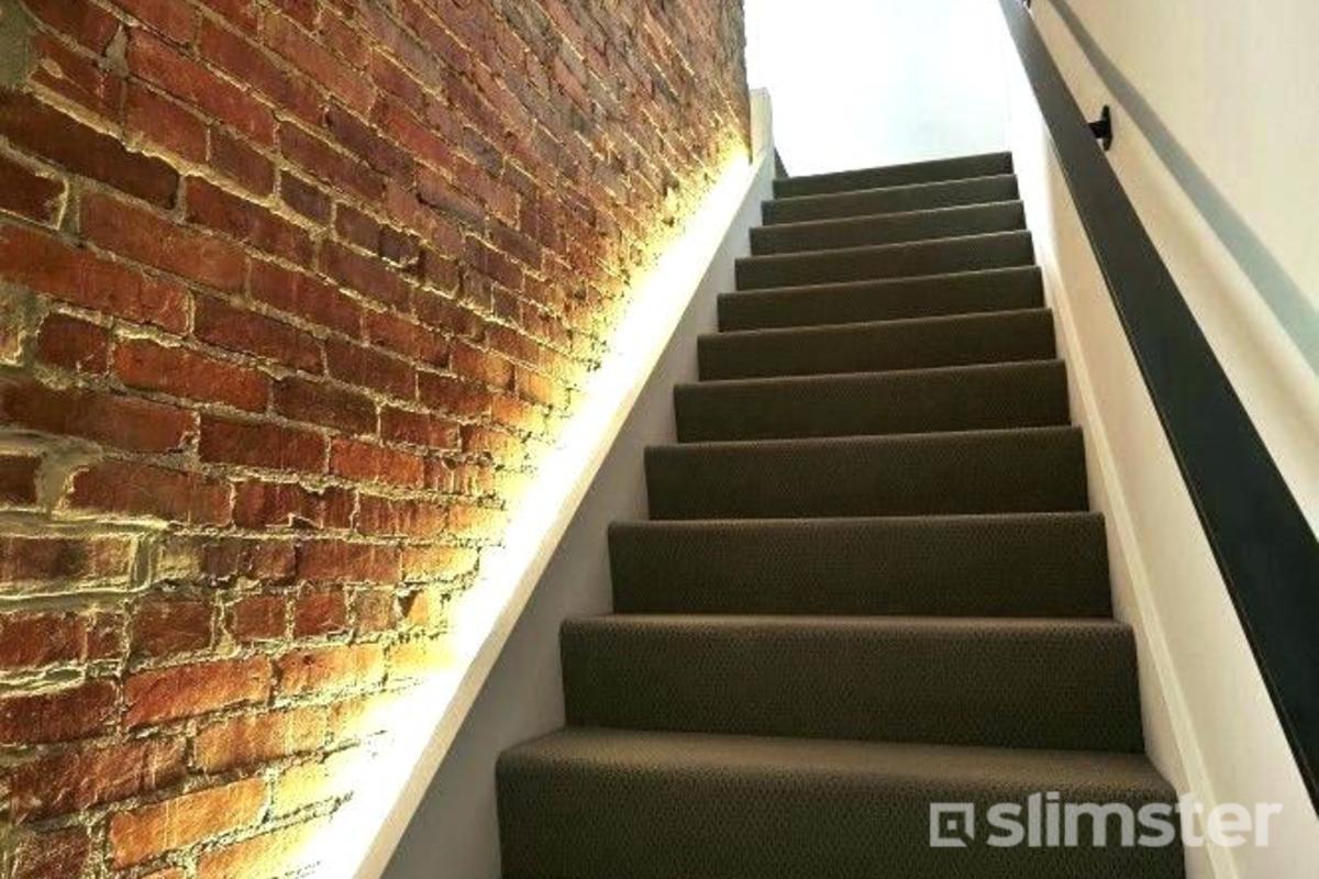 Trapverlichting plaatsen   Traprenovatie opties   Slimster